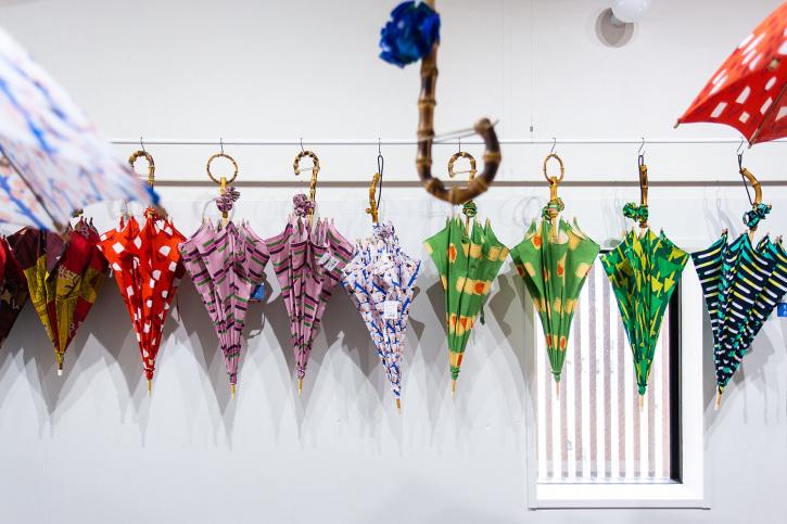 『アトリエ すずきの洋傘展〈atelier Suzuki parasol〉』青衣 あをごろも 京都店 2Fギャラリー_e0321916_14564012.jpg