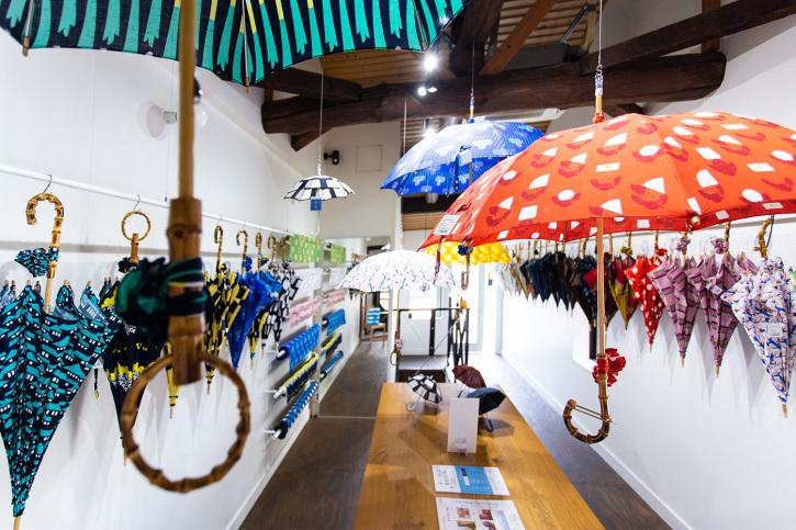 『アトリエ すずきの洋傘展〈atelier Suzuki parasol〉』青衣 あをごろも 京都店 2Fギャラリー_e0321916_14564050.jpg