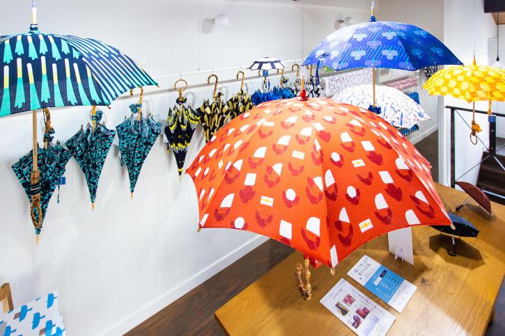『アトリエ すずきの洋傘展〈atelier Suzuki parasol〉』青衣 あをごろも 京都店 2Fギャラリー_e0321916_14564126.jpg