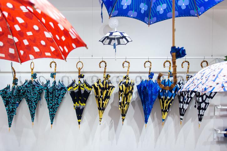 『アトリエ すずきの洋傘展〈atelier Suzuki parasol〉』青衣 あをごろも 京都店 2Fギャラリー_e0321916_14564887.jpg