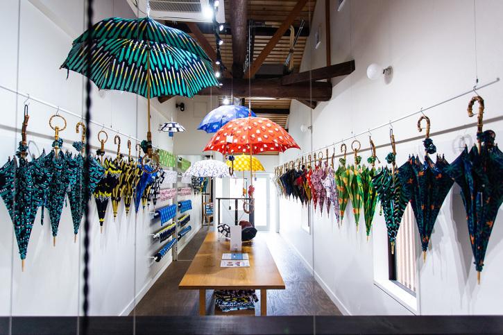 『アトリエ すずきの洋傘展〈atelier Suzuki parasol〉』青衣 あをごろも 京都店 2Fギャラリー_e0321916_14564955.jpg