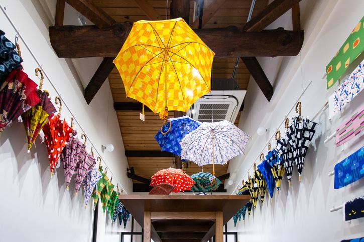 『アトリエ すずきの洋傘展〈atelier Suzuki parasol〉』青衣 あをごろも 京都店 2Fギャラリー_e0321916_14564977.jpg
