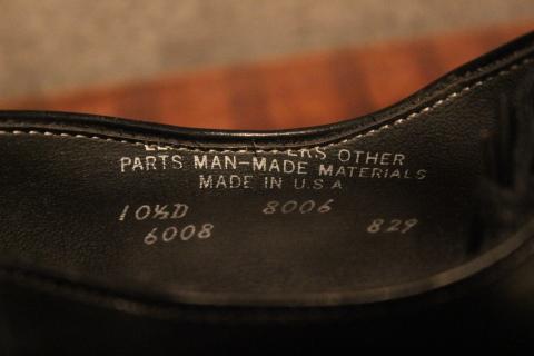 「Vintage Dress Shoes」 & 「Vintage Work Boots」 ご紹介_f0191324_08535430.jpg