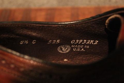 「Vintage Dress Shoes」 & 「Vintage Work Boots」 ご紹介_f0191324_08564838.jpg