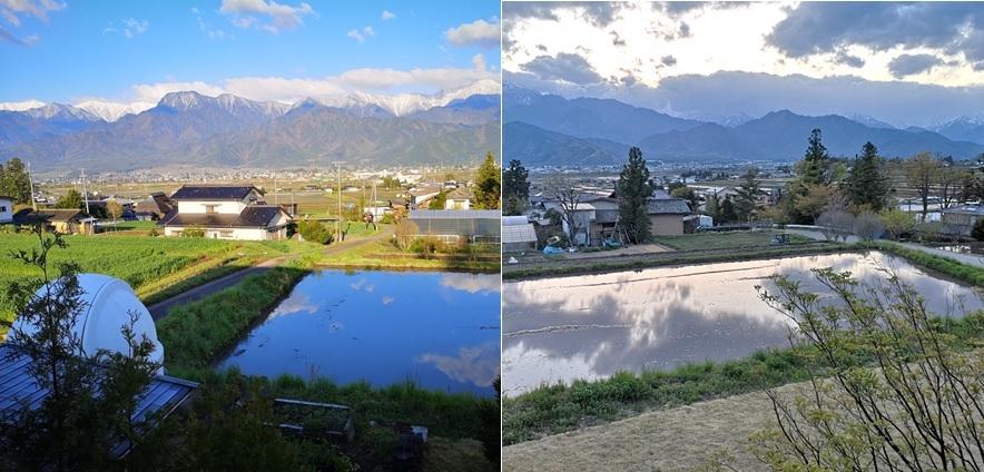 水面と空と山_a0212730_18551717.jpg