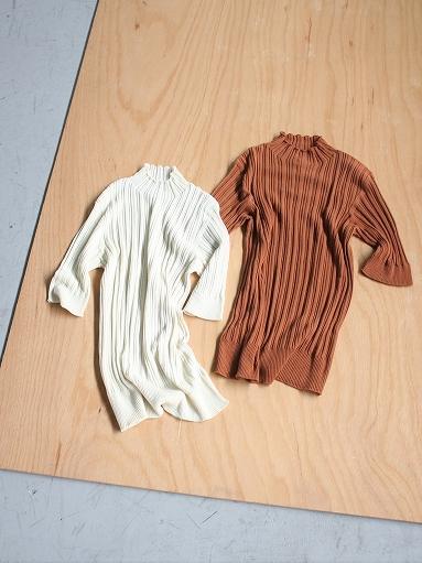 unfil high twist cotton ribbed-knit sweater_b0139281_18172431.jpg