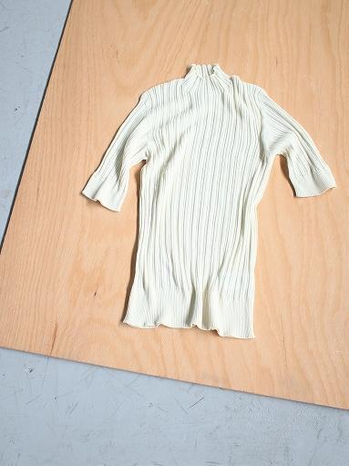 unfil high twist cotton ribbed-knit sweater_b0139281_18181015.jpg