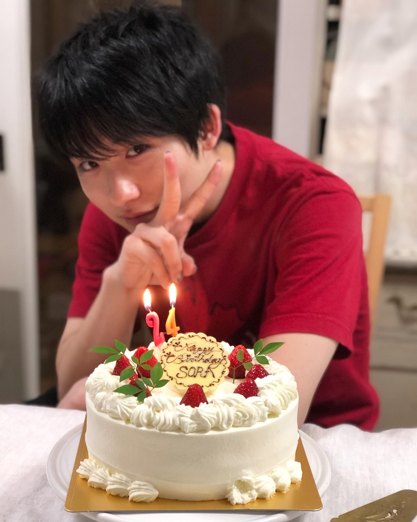 Happy Birthday Sora!24歳おめでとう!_a0157409_14542459.jpeg
