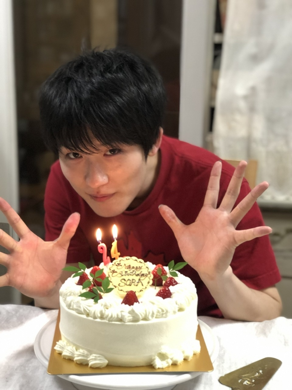 Happy Birthday Sora!24歳おめでとう!_a0157409_14551027.jpeg