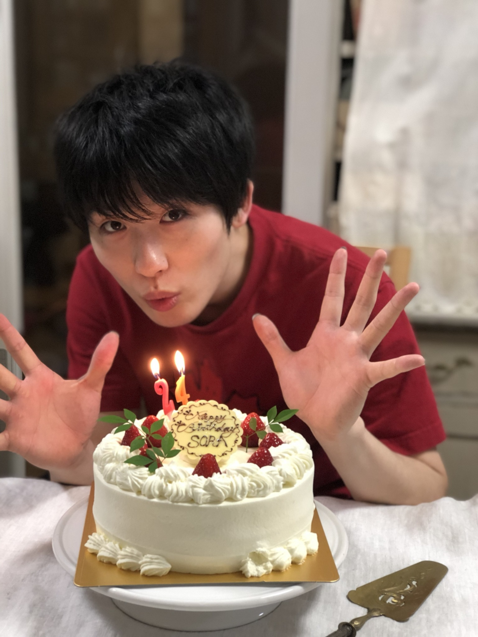 Happy Birthday Sora!24歳おめでとう!_a0157409_14552192.jpeg