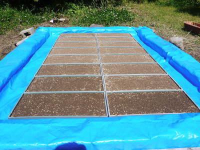 米作りの挑戦(2021年) 苗床をしました!今年も自給自足のために米作り頑張ります!_a0254656_18122617.jpg