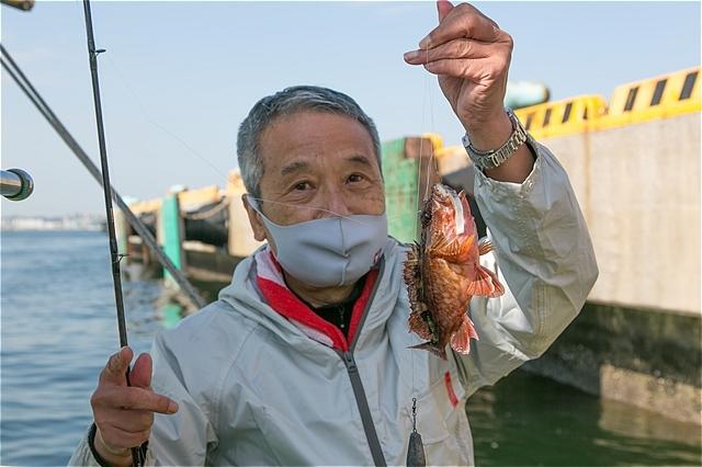 J:COM釣りたいっ!2021年5月号Youtube版 東京湾金沢八景カサゴ釣り公開です(*^^)v_c0196414_03231850.jpg
