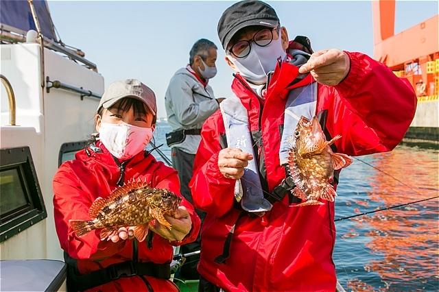 J:COM釣りたいっ!2021年5月号Youtube版 東京湾金沢八景カサゴ釣り公開です(*^^)v_c0196414_03231931.jpg