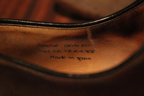 5月5日(水) 店頭出し最終アイテム 「Vintage Dress Shoes」 ご紹介_f0191324_09372012.jpg