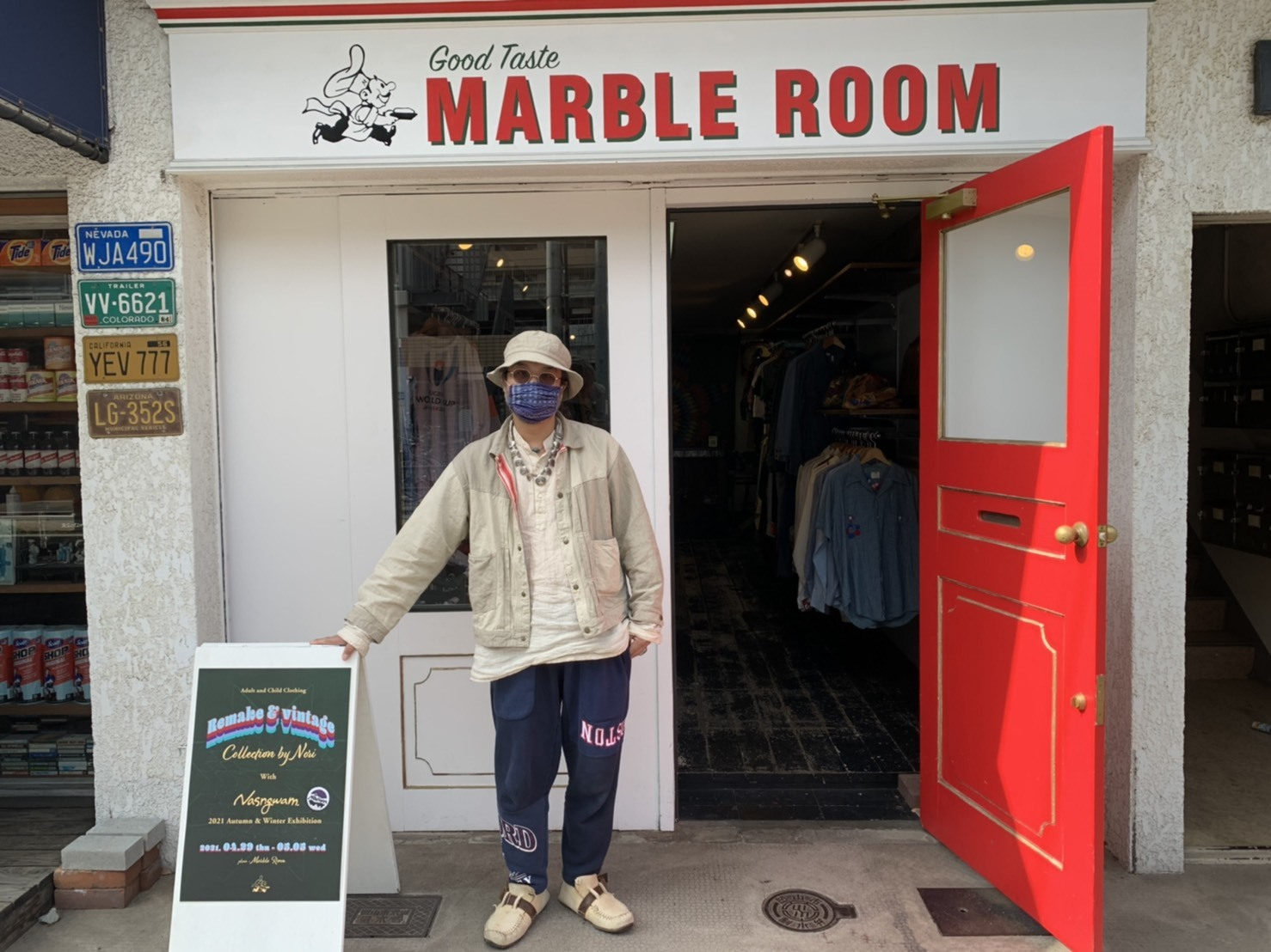 Remake & Vintage at. MARBLE ROOM ありがとうございました!!_d0367472_14133838.jpg