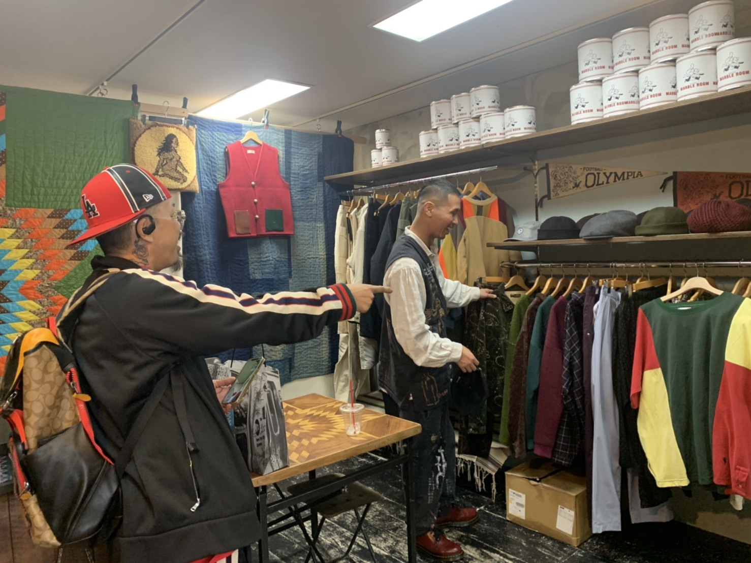 Remake & Vintage at. MARBLE ROOM ありがとうございました!!_d0367472_14172834.jpg