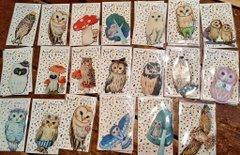 kaori-artさん 小鳥・フクロウアクセサリー店頭販売、通販5月31日まで受付_d0322493_17353272.jpg
