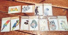 kaori-artさん 小鳥・フクロウアクセサリー店頭販売、通販5月31日まで受付_d0322493_17362647.jpg