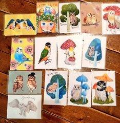 kaori-artさん 小鳥・フクロウアクセサリー店頭販売、通販5月31日まで受付_d0322493_17372979.jpg