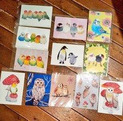 kaori-artさん 小鳥・フクロウアクセサリー店頭販売、通販5月31日まで受付_d0322493_17375958.jpg