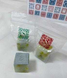 今月のプレゼントは『美術家 多田文昌デザイン「 石のアルファベットハンコ」』です!_d0238101_12284633.jpeg