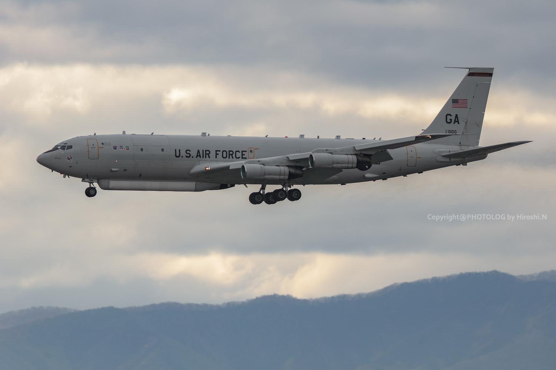 2021/5/5 Wed. - Yokota Airbase E-8C -_b0183406_21494224.jpg