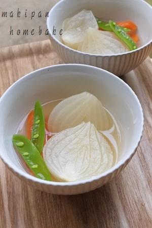 熊本県産 塩たまねぎ 「塩玉ちゃん」オニオンスライス・コンソメ煮・煮物_c0229312_19114261.jpg