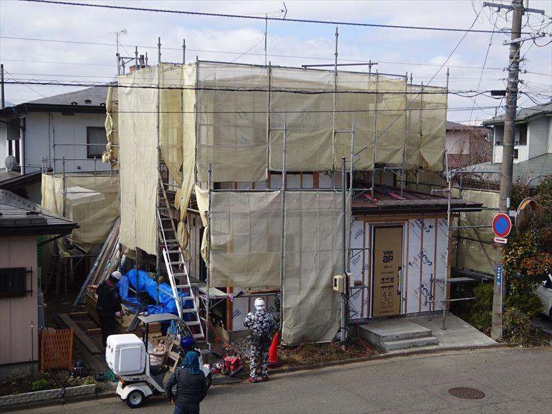 神子田町 1階フルリフォーム工事 進行中。_f0105112_04210469.jpg