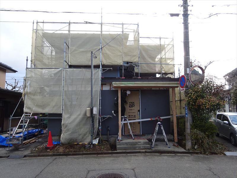 神子田町 1階フルリフォーム工事 進行中。_f0105112_04410223.jpg