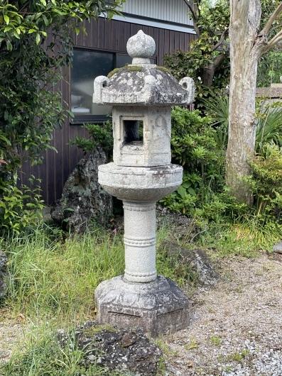 東近江市 法森寺石灯籠_f0183722_14111837.jpeg