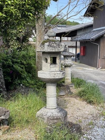 東近江市 法森寺石灯籠_f0183722_14123038.jpeg