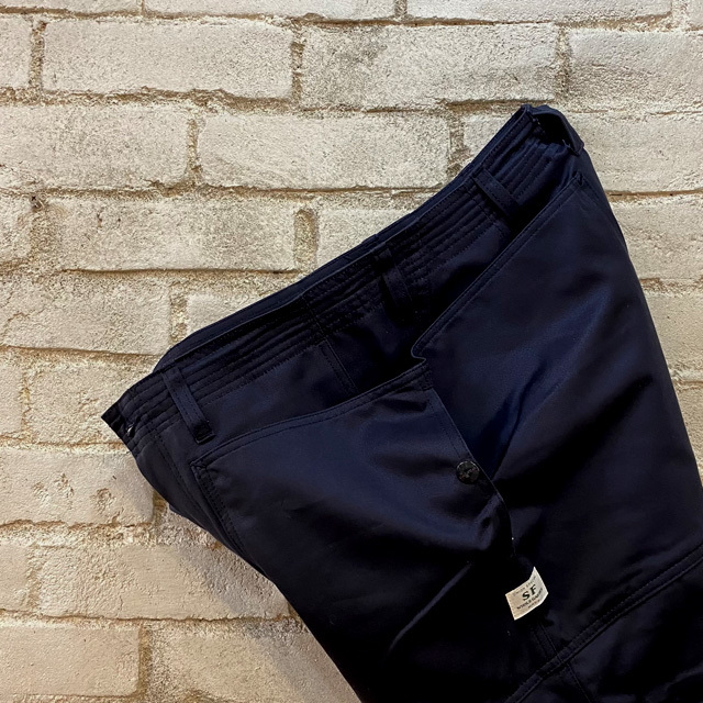 BRU NA BOINNE SCグランパシャツ & SASSAFRAS Fall Leaf Sprayer Pants_b0102140_18223028.jpg