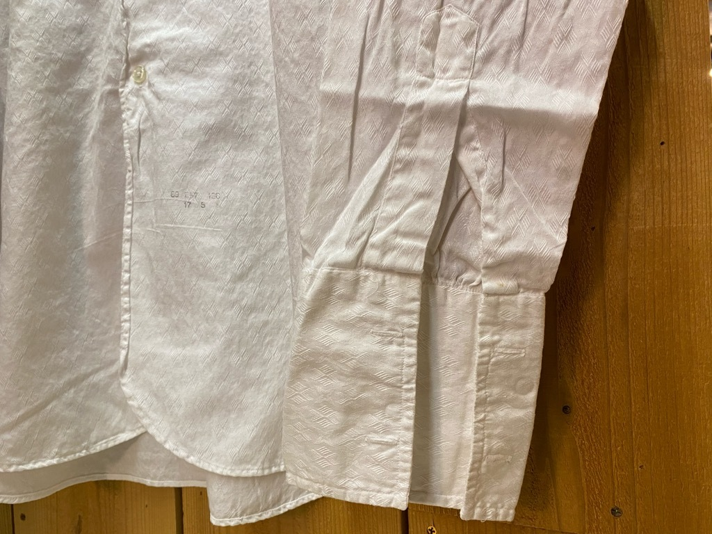 5月12日(水)大阪店Vintage&Bottoms入荷日!! #2 VintageTrad編!! CortexFabric,LeatherShoes,1850\'sHanger,WhiteShirt!_c0078587_12561734.jpg