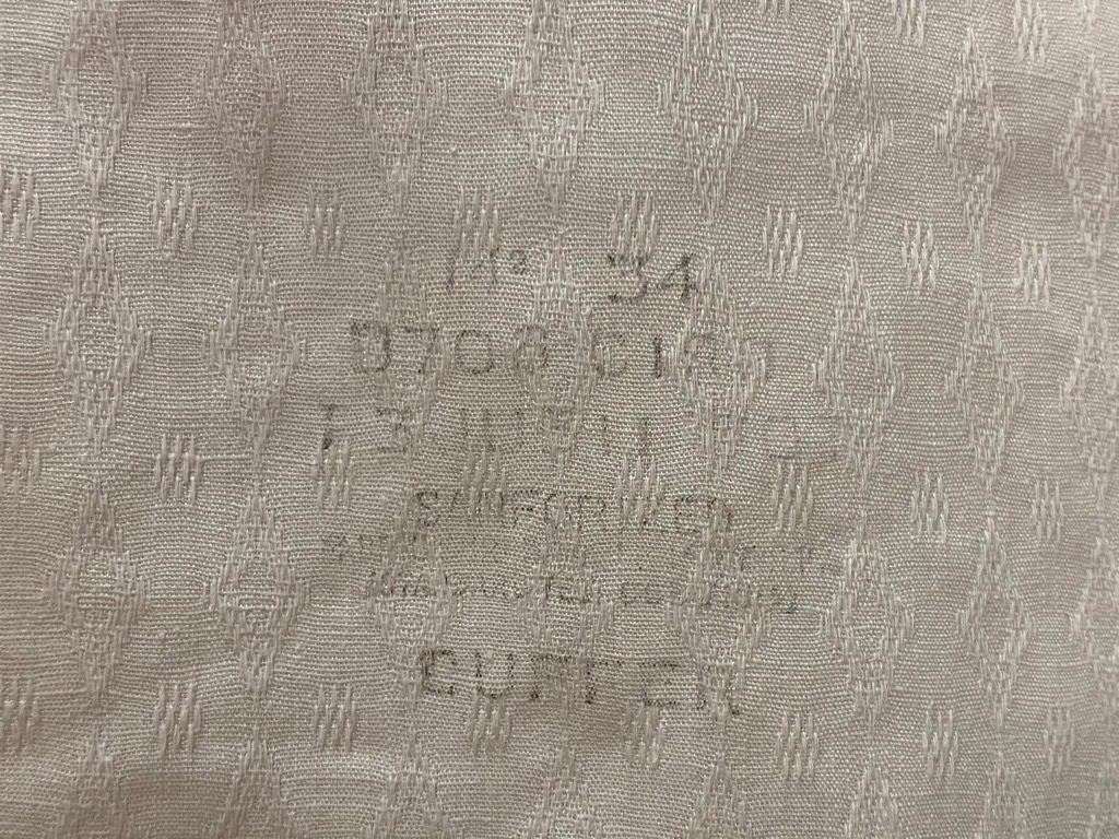 5月12日(水)大阪店Vintage&Bottoms入荷日!! #2 VintageTrad編!! CortexFabric,LeatherShoes,1850\'sHanger,WhiteShirt!_c0078587_12591493.jpg