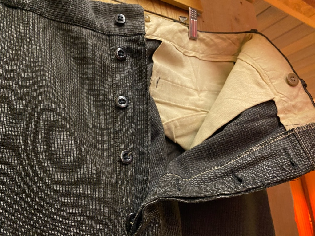 5月12日(水)大阪店Vintage&Bottoms入荷日!! #2 VintageTrad編!! CortexFabric,LeatherShoes,1850\'sHanger,WhiteShirt!_c0078587_13115295.jpg