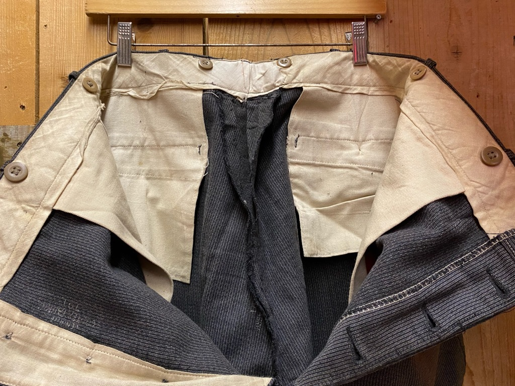 5月12日(水)大阪店Vintage&Bottoms入荷日!! #2 VintageTrad編!! CortexFabric,LeatherShoes,1850\'sHanger,WhiteShirt!_c0078587_13115613.jpg