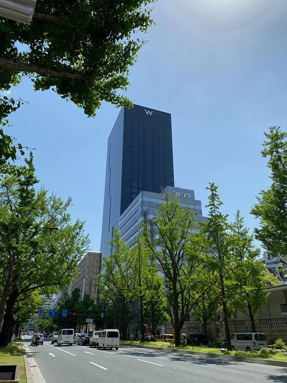 W大阪にチェックイン_e0401509_14033107.jpg