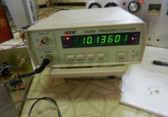 10.136MHz FT8送信機の組み立て−基板間の配線と実働試験_f0205744_21193251.jpg