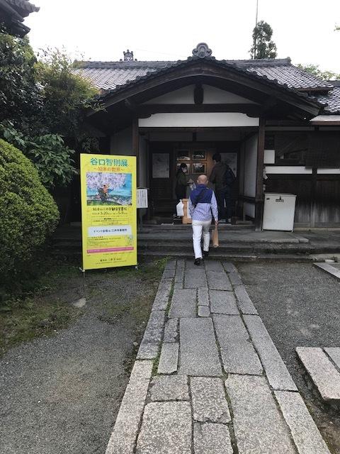 三井寺で開催中の谷口智則展・100にんのサンタクロース_f0181251_18184831.jpg