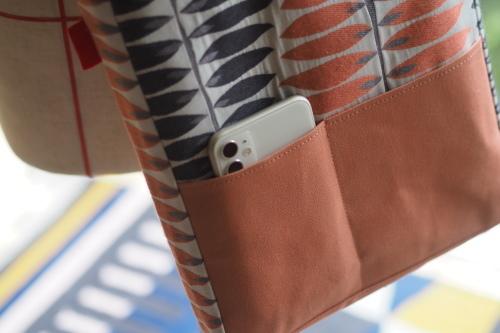 「shoulder bag 」with back pockets_e0243765_13440238.jpg
