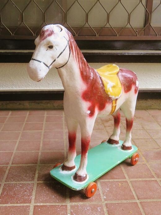 パピエマシェ製の馬の引き車 其の七_e0074478_17285985.jpg