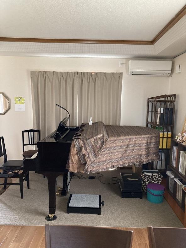レッスン室♪ - Tanimoto's piano room♪ 谷本智子ピアノ教室