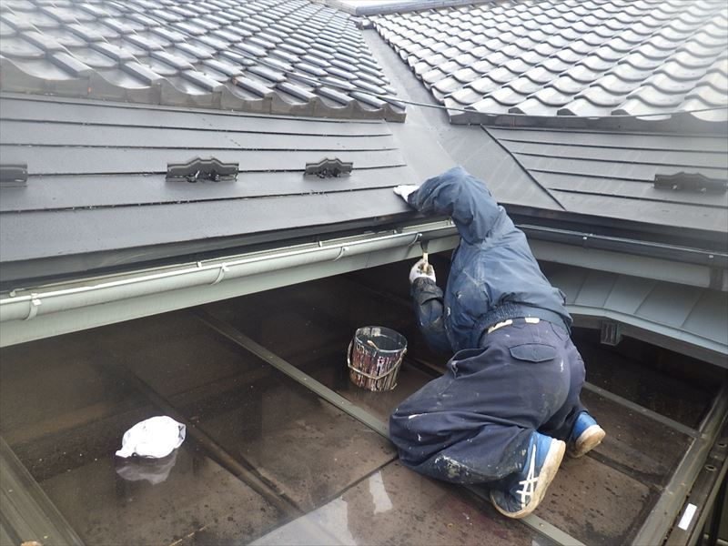 屋根と外壁の塗装リフォーム_f0105112_05120453.jpg