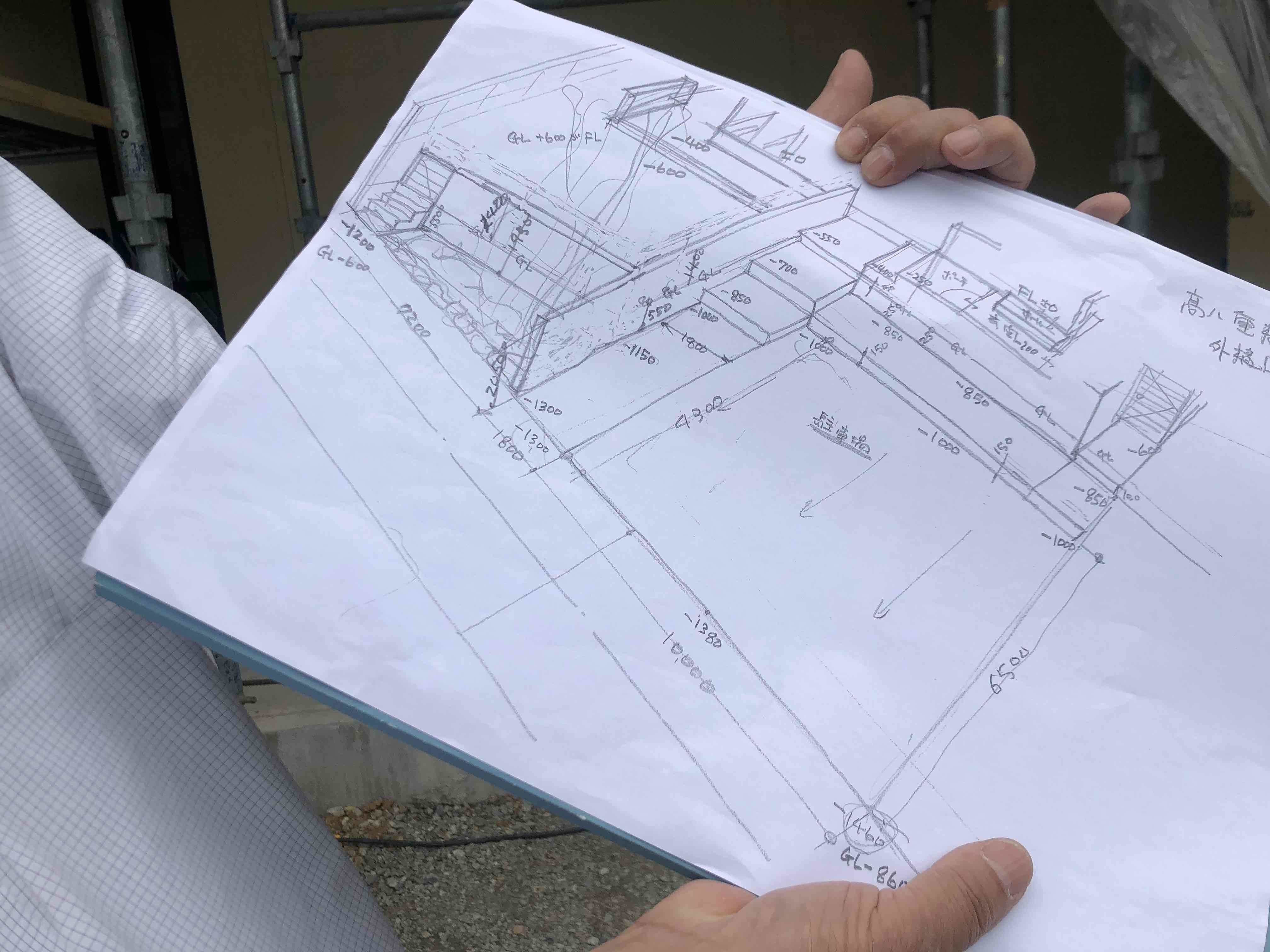 「福津フラットハウス」T様邸現場打ち合わせでした。_e0029115_07362807.jpg