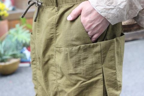 "「norbit」 軽くて丈夫な \""Nylon Grosgrain Shorts\"" (HNPT-036) ご紹介_f0191324_09242078.jpg"