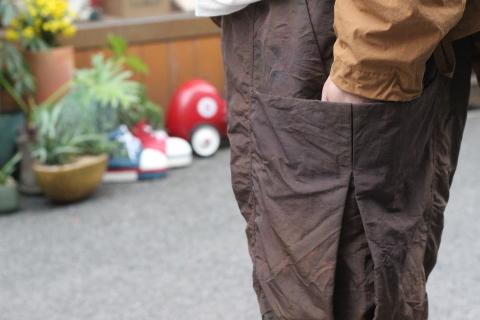 "「norbit」 軽くて丈夫な \""Nylon Grosgrain Shorts\"" (HNPT-036) ご紹介_f0191324_09273998.jpg"