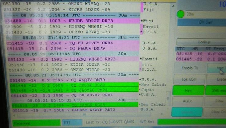 10.136MHz FT8送信機で初交信_f0205744_19492712.jpg