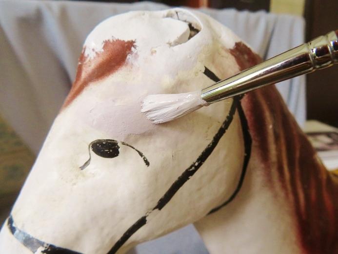 パピエマシェ製の馬の引き車 其の八_e0074478_18013499.jpg