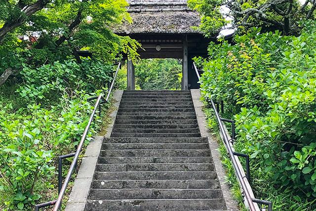 東慶寺の新緑_b0145398_22442224.jpg
