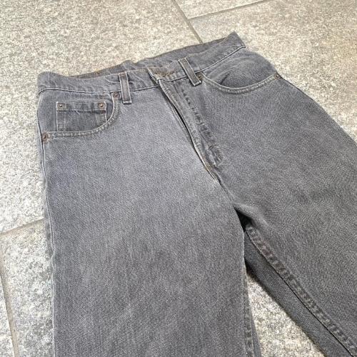 Late 80's~ USmade Levi's  505 Black Jeans _a0182112_12111354.jpg